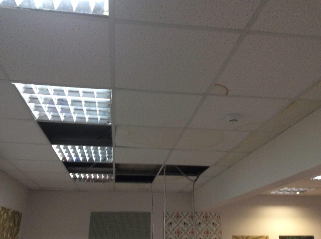 Проводим оценку и возмещение ущерба после затопления офисного, производственного, складского помещения