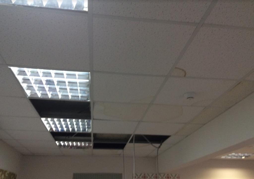Затопление офиса, склада, производственного помещения