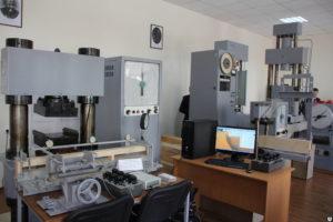 Испытания строительных материалов, измерения, исследования